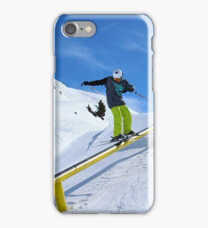 Skiing rail  iPhone Case/Skin
