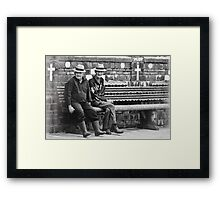 Old folks Framed Print