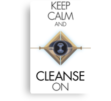 Cleanse On Canvas Print