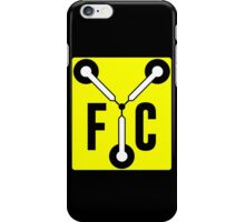 F C Flux iPhone Case/Skin