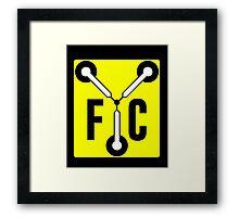 F C Flux Framed Print