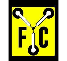 F C Flux Photographic Print