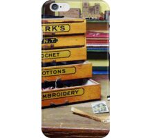Embroidery Thread for Sale iPhone Case/Skin