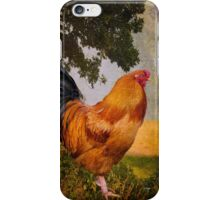 Chanticleer in Blue iPhone Case/Skin