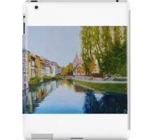 La Petite France in Strasbourg iPad Case/Skin