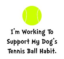 Dogs Tennis Ball by TheBestStore
