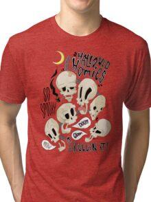 Hallowed Homies Tri-blend T-Shirt