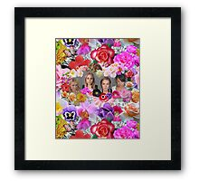 Princesses mugshots Framed Print