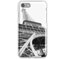 Eiffel Tower Black and White iPhone Case/Skin