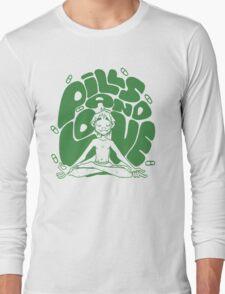 2D pills and love  Long Sleeve T-Shirt