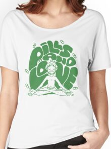 2D pills and love  Women's Relaxed Fit T-Shirt