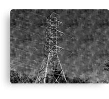 Power Shortage Canvas Print