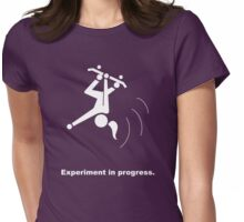 Experiment In Progress - Skateboarding (Clothing) Womens Fitted T-Shirt