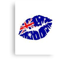 Australia kiss Canvas Print