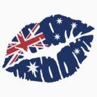 Australia kiss by Designzz