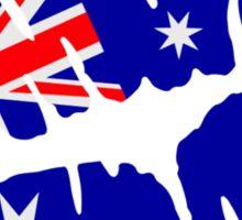 Australia kiss Sticker