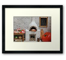 Where's the Tomato? Framed Print