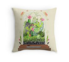 BABY, IT'S HOT IN HERE! Throw Pillow