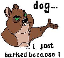 I'm not a dog! by toffeeatunkai
