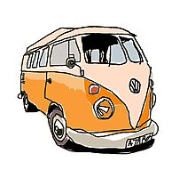 VW The Unassuming Photographic Print