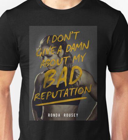 Don't give a Damn - Ronda Rousey Unisex T-Shirt
