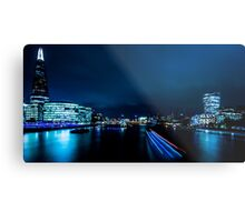 Nightscape - Blue is the Colour Metal Print