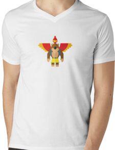 Bear & Bird Mens V-Neck T-Shirt
