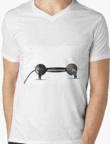 Long Distance Mens V-Neck T-Shirt