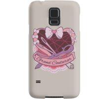 Grand Couturier Emblem - Light BG Samsung Galaxy Case/Skin