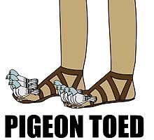 Pigeon Toed by DolceandBanana