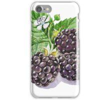 Blackberry Bunch iPhone Case/Skin