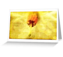 Pistil Greeting Card