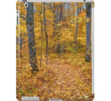 Golden Fall Colour iPad Case/Skin