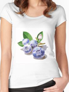 Blueberry Bunch Women's Fitted Scoop T-Shirt