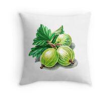 Gooseberry Bunch Throw Pillow
