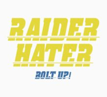 Raider Hater! Bolt UP! Kids Clothes