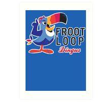 Fruit Loop Dingus Art Print
