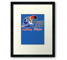 Fruit Loop Dingus Framed Print