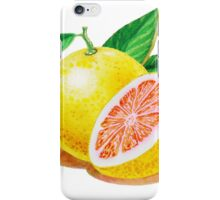 Ruby Red Grapefruit iPhone Case/Skin