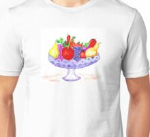 Fruit in Vase Art Unisex T-Shirt