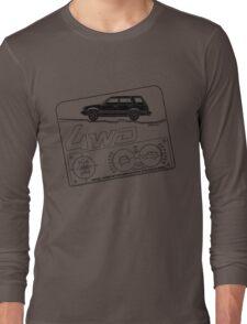 Toyota Tercel SR5 4WD Wagon AL25 BW Clinometer Long Sleeve T-Shirt