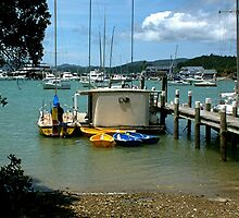 A peaceful corner of Opua, Bay of Islands, New Zealand.....! by Roy  Massicks