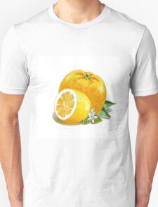 Orange And Lemon Unisex T-Shirt
