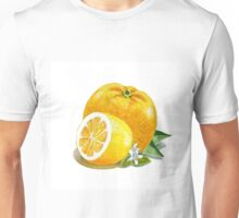 Orange And Lemon Unisex T-Shirt