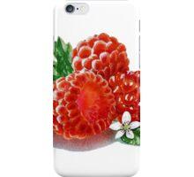 Raspberry Bunch iPhone Case/Skin