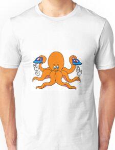 Ironing Octupus Unisex T-Shirt