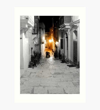 The Alley Art Print