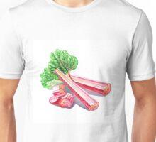 Rhubarb Stalks Unisex T-Shirt