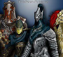 Dark Souls - The Four Knights by SHOTGUNJEN