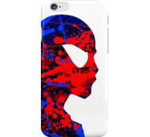 "A Splash of Heroism: ""Spider-Man"" iPhone Case/Skin"